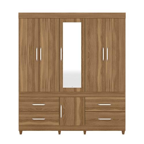 Guarda-roupa Demobile Guaruja com Espelho - Amendola