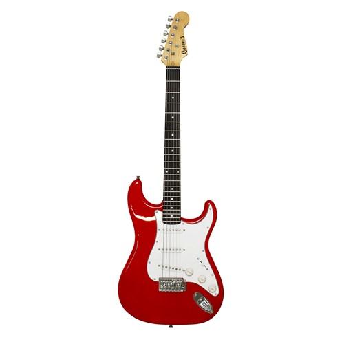 Guitarra Elétrica Queens's P10 - D137561 - Vermelha/Branca