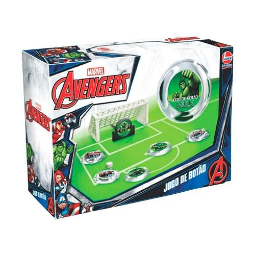 Jogo de Botão Avengers - Lider 2400