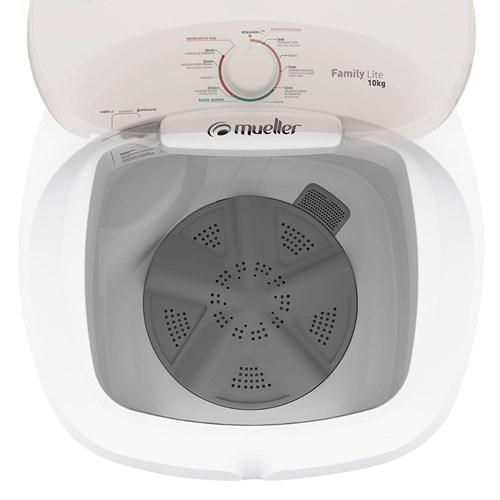 Lavadora de Roupas Mueller Family Lite 10Kg - Semiautomática 6 Programas de Lavagem 220v