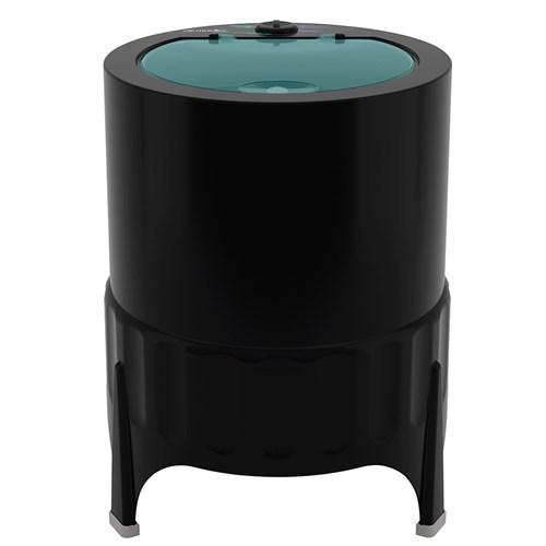 Lavadora de Roupas Mueller Plus 4,5Kg - Semiautomática 4 Programas de Lavagem Preta 220v