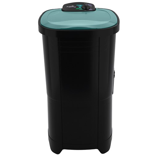 Lavadora de Roupas Mueller Super POP - Semiautomática 6 Programas de Lavagem Preta 220v