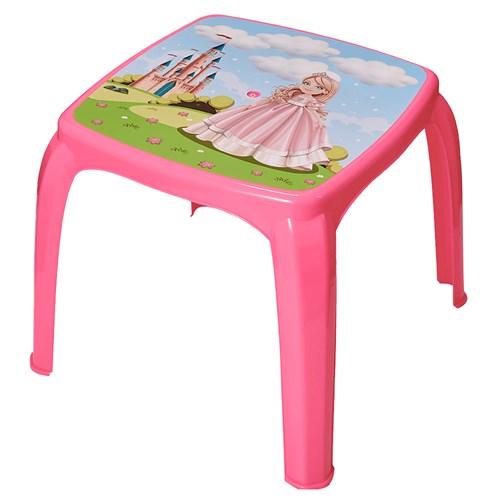 Mesa Infantil Usual Decorada - Princesa 271