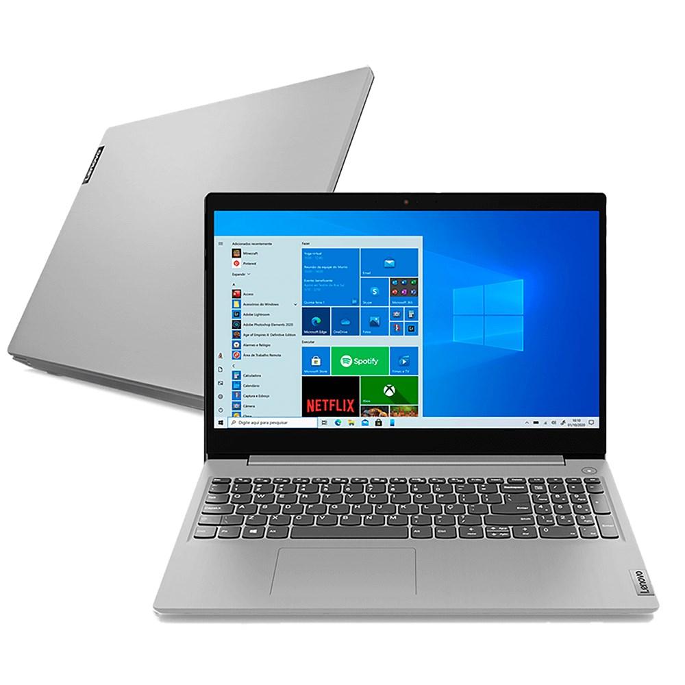 """Notebook Lenovo S145 - 81V70005BR  Amd R5 3500u 4GB 1TB - Tela De 15,6"""" - Windows 10"""