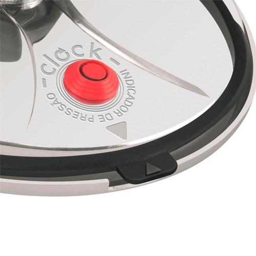 Panela de Pressão Polida 4,5 litros - Clock Original