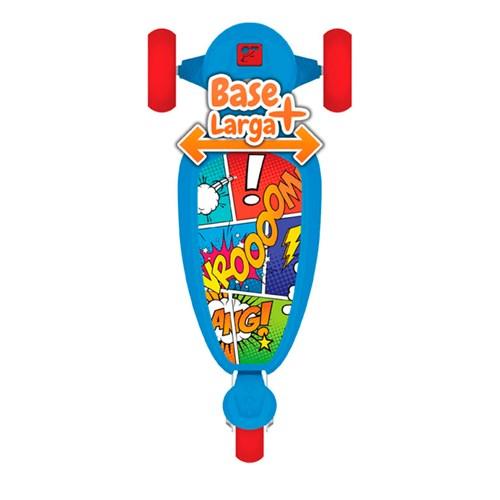 Patinete Skatenet  Kid - Bandeirante 1500 Azul