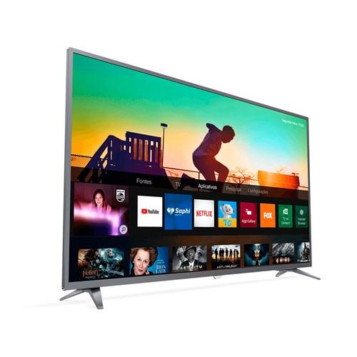 "Philips Smart TV 4K 55PUG6513 55"" LED - HDR Controle Remoto 3 HDMI"