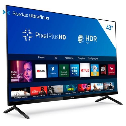 "Philips Smart TV Full HD 43PFG6825 43"" LED - HDR10+ - Wifi e Bluetooth"