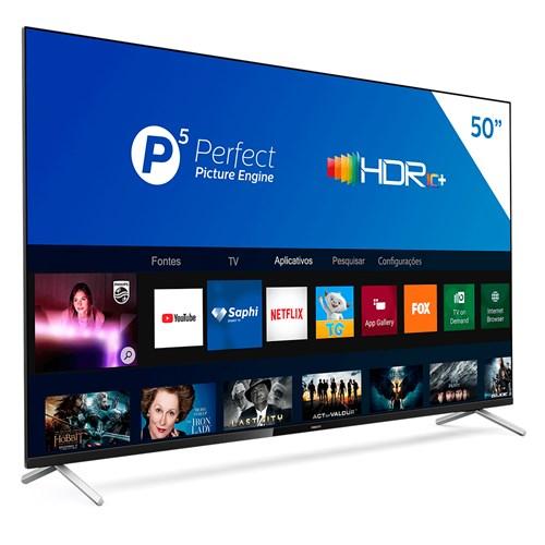 """Philips Smart TV UHD 4K 50PUG7625 50"""" - HDR10+, Controle Remoto 3 HDMI"""