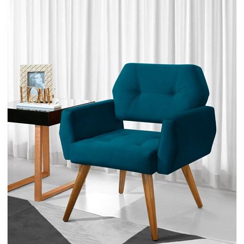 Poltrona Art Brasil Provence - Azul 3107