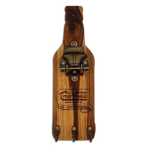 Porta chaves com abridor de garrafa fusca CAV - Ouro velho