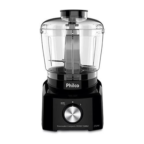 Processador de Alimentos Philco 3 em 1 PH900 - 1 Velocidade + Pulsar 250w 110v