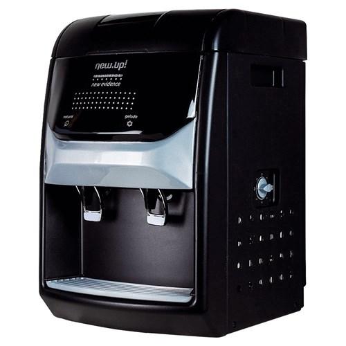 Purificador de Água New UP! Evidence - Preto Refrigeração por Compressor 110v