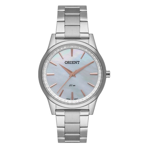Relógio Feminino Analógico Orient Eternal - FBSS0076 Branco