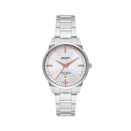 Relógio Feminio Analógico Orient - Prata