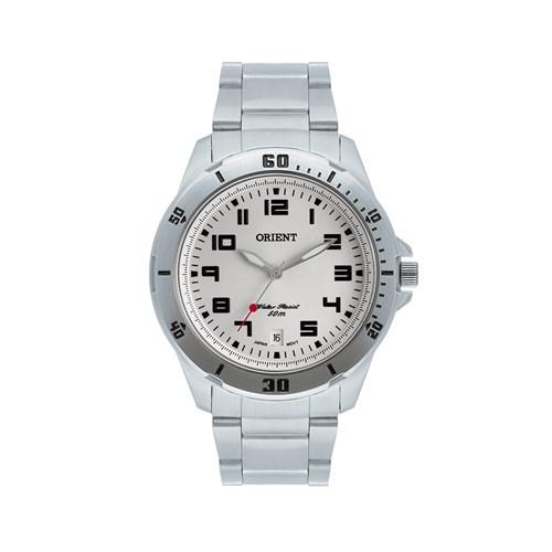 Relógio Masculino Analógico Orient - MBSS1155 Prata