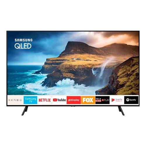 "Samsung Smart TV 4K QLED QN55Q70R 55"", HDR10+, Controle Remoto e Bluetooth"