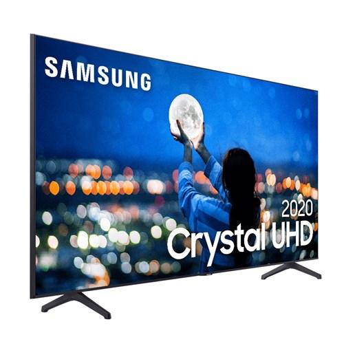 """Samsung Smart TV UHD 4K UN50TU7000 50"""" - HDR10+, Controle Remoto e Bluetooth"""