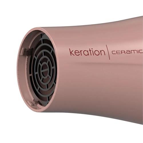 Secador de Cabelo Gama Italy KERATION CERAMIC - 2000w Com 6 Combinações de temperaturas