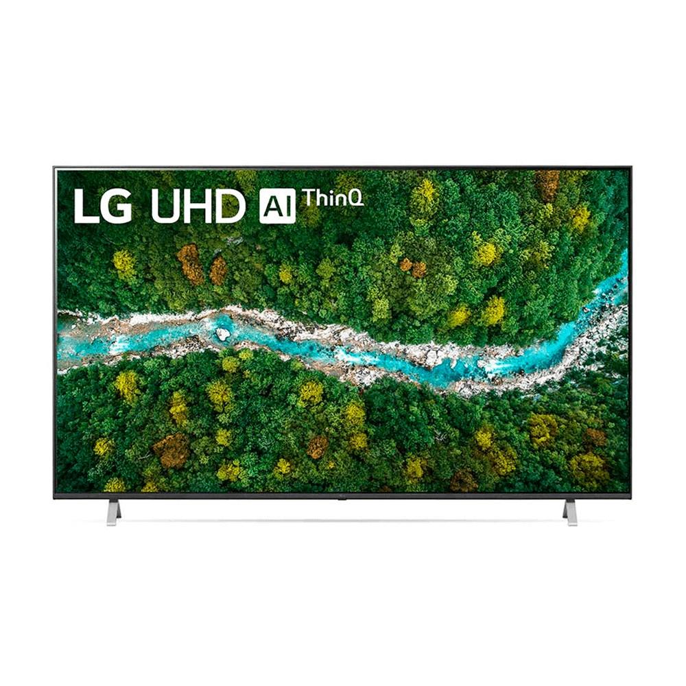 "Smart TV 4K UHD UP7750PSB 70"", WiFi Bluetooth HDR Inteligência Artificial ThinQ Smart Magic Google Alexa"