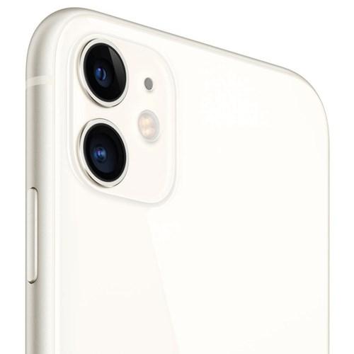"Smartphone Apple iPhone 11 64GB Branco 4G - Tela 6.1"" 12MP + Selfie 12MP iOS 13"
