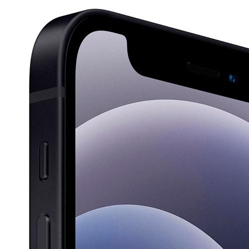 "Smartphone Apple iPhone 12 128GB Preto 4G - Tela 6.1"" Câm dupla + Selfie 12MP - iOS 14"