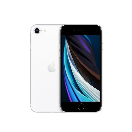"Smartphone Apple iPhone SE 64 GB Branco 4G Tela 4,7"" Retina - Câm. 12MP + Selfie 7MP iOS 13"