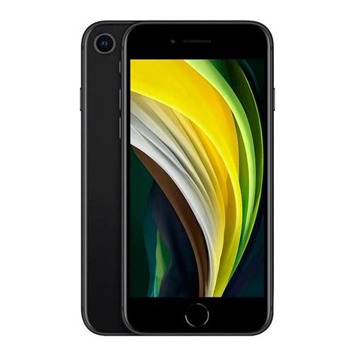 "Smartphone Apple iPhone SE 64GB Preto 4G Tela 4,7"" Retina - Câm. 12MP + Selfie 7MP iOS 13"