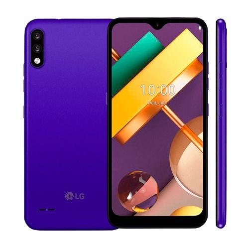 """Smartphone LG K22+ 64GB - Azul - 4G - Tela 6,2"""" - Câm. Dupla + Câm. Selfie 8MP"""