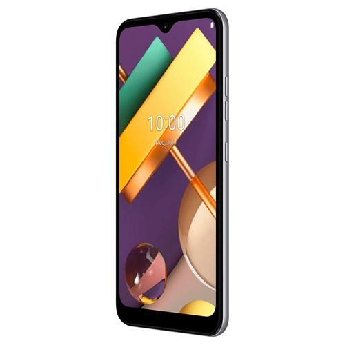 """Smartphone LG K22+ 64GB - Titânio - 4G - Tela 6,2"""" - Câm. Dupla + Câm. Selfie 8MP"""