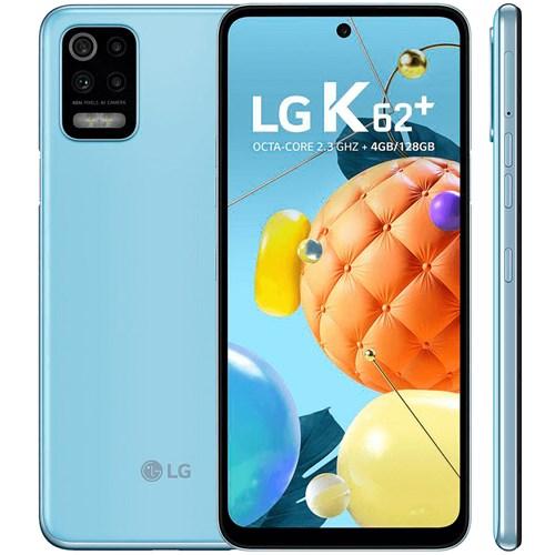 """Smartphone LG K62+ 128GB Azul - 4G - Tela 6.6"""" - Câm. Quádrupla + Selfie 28MP"""