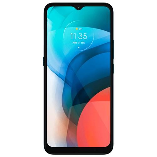 """Smartphone Motorola Moto E7 32GB Aquamarine 4G - 2GB RAM Tela 6,5"""" Câm. Selfie + Câm. Dupla 48 Mp + 2 Mp"""