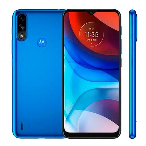 """Smartphone Motorola Moto E7 Power Azul 4G - Tela 6,5"""" Câm. Dupla + Câm. Selfie 5MP"""