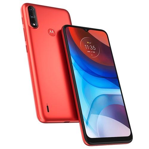 """Smartphone Motorola Moto E7 Power Vermelho 4G - Tela 6,5"""" Câm. Dupla + Câm. Selfie 5MP"""