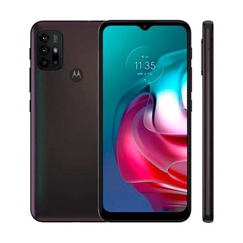 "Smartphone Motorola Moto G30 Dark Prism 4G - Tela de 6,5"" Câm. 64MP + Câm Selfie 13MP"