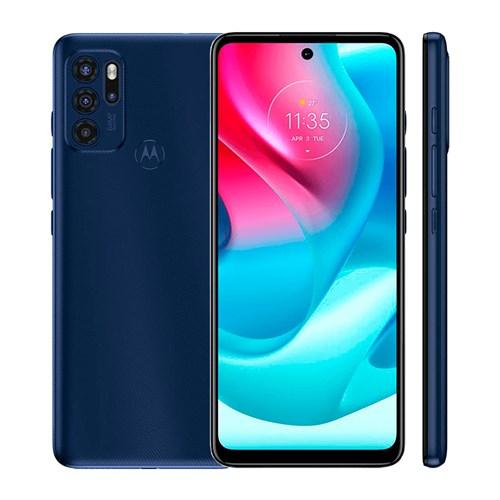 """Smartphone Motorola Moto G60S - Azul 4G -Tela 6,8"""" Câm. Quádrupla + Selfie 16MP"""