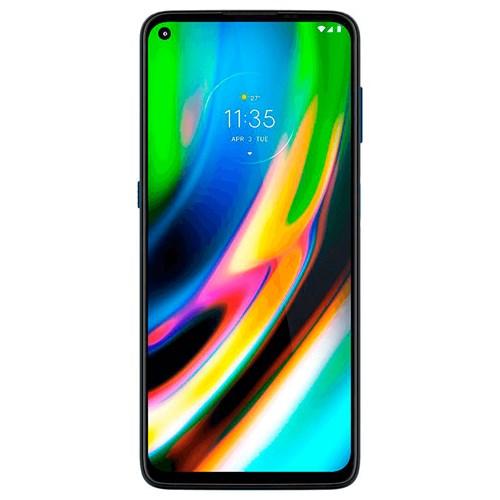 """Smartphone Motorola Moto G9 Plus Azul 4G - Tela 6,8"""" Câm. Quádrupla + Câm. Selfie 16MP"""