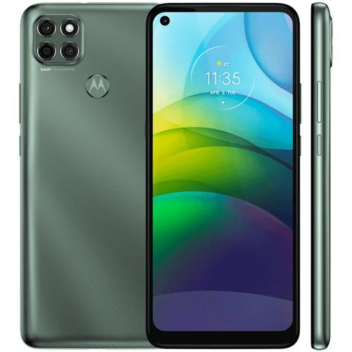 "Smartphone Motorola Moto G9 Power Verde Pacifico 4G - Tela 6,8"" Câm. Tripla + Câm. Selfie 16MP"