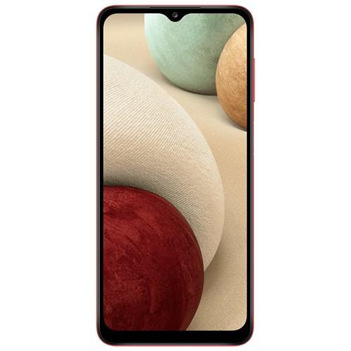 "Smartphone Samsung Galaxy A12 64GB Vermelho - 4GB RAM Tela 6.5"" Câm. 48Mp + 5Mp + 2Mp + 2Mp"