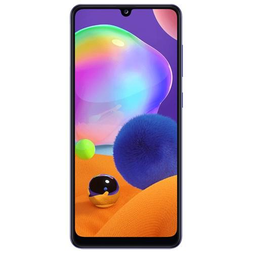 """Smartphone Samsung Galaxy A31 128GB Azul 4G - 4GB RAM Tela 6,4"""" Câm. Quadrupla + Câm. Selfie 20Mp"""