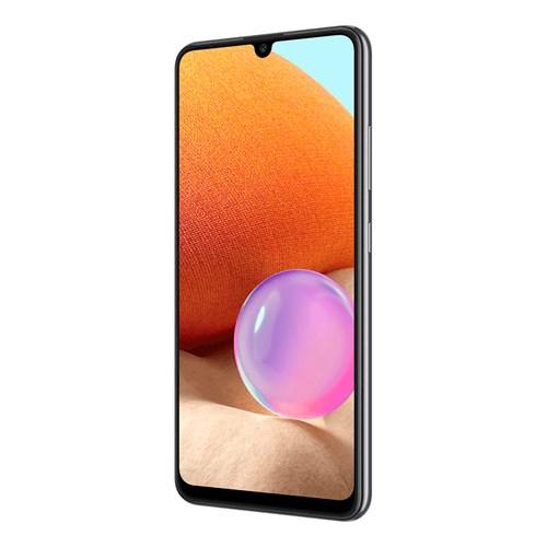 "Smartphone Samsung Galaxy A32 128GB Preto 4G - 4GB RAM Tela 6,4"" Câm. Quádrupla + Selfie 20MP"