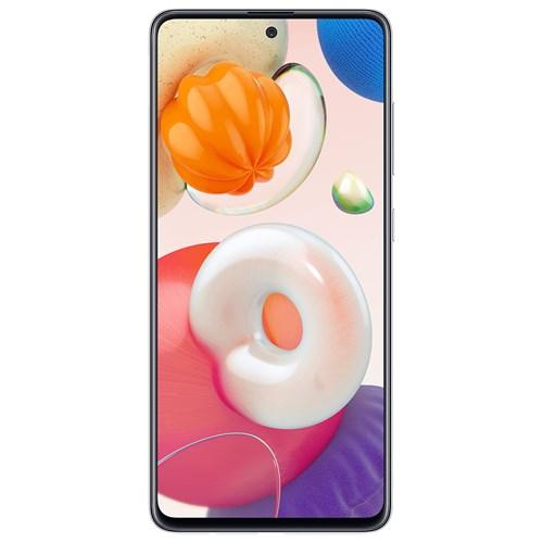 "Smartphone Samsung Galaxy A51 128GB Cinza 4G - 4GB RAM Tela 6,5"" Câm. Quadrupla + Câm. Selfie 32MP"