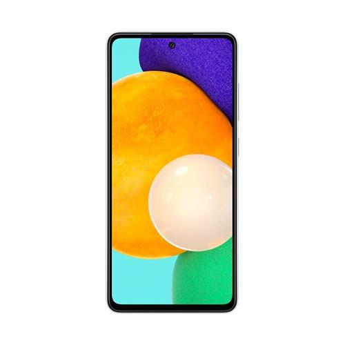 "Smartphone Samsung Galaxy A52 128GB Branco 4G - 6GB RAM Tela 6,5"" Câm. Quádrupla + Selfie 32MP"