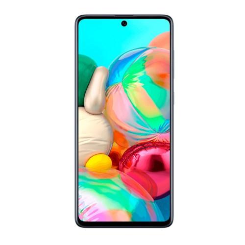 """Smartphone Samsung Galaxy A71 128GB Preto 4G - 6GB RAM Tela 6,7"""" Câm. Quádrupla + Câm. Selfie 32MP"""