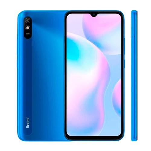 """Smartphone Xiaomi Redmi 9A 32GB Azul - 2GB RAM Tela 6.53"""" Câm. 13MP + Câm. Selfie 5MP"""