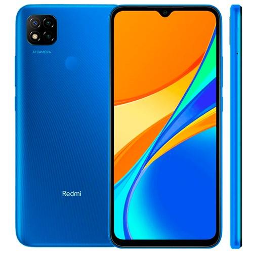 """Smartphone Xiaomi Redmi 9C 64GB Azul - 4GB RAM Tela 6.53"""" Câm. 13MP+2MP+2MP + Câm. Selfie 5MP"""