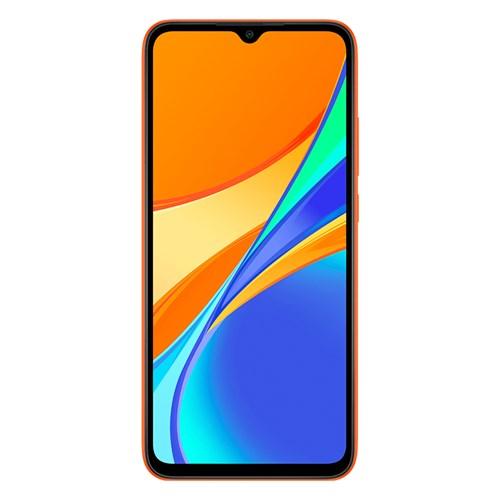 "Smartphone Xiaomi Redmi 9C 64GB Laranja - 3GB RAM Tela 6.53"" Câm. 13MP+2MP+2MP + Câm. Selfie 5MP"