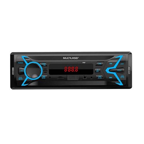 Som Automotivo Multilaser Pop BT Bluetooth - MP3 Player USB Micro SD