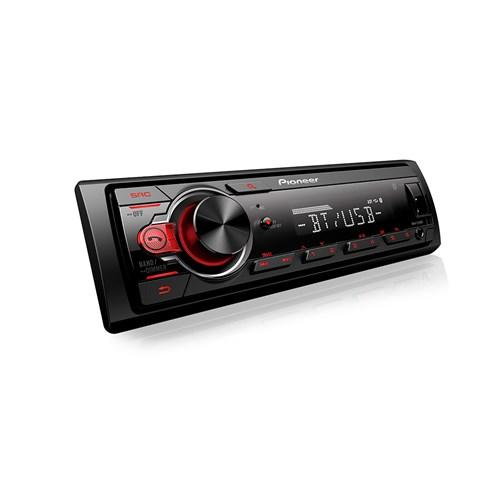 Som Automotivo Pionner MVH-S218BT Preto - MP3 Player USB Micro SD