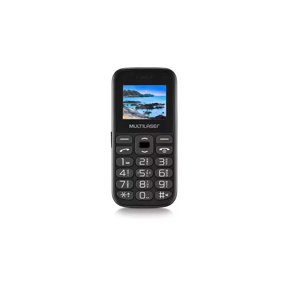Telefone Celular Multilaser Vita P9120 2 Chips Preto